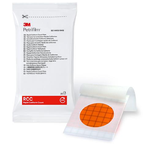 3M Petrifilm Rapid Coliform Count Plates