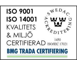 SSO 9001 ISO14001 logo