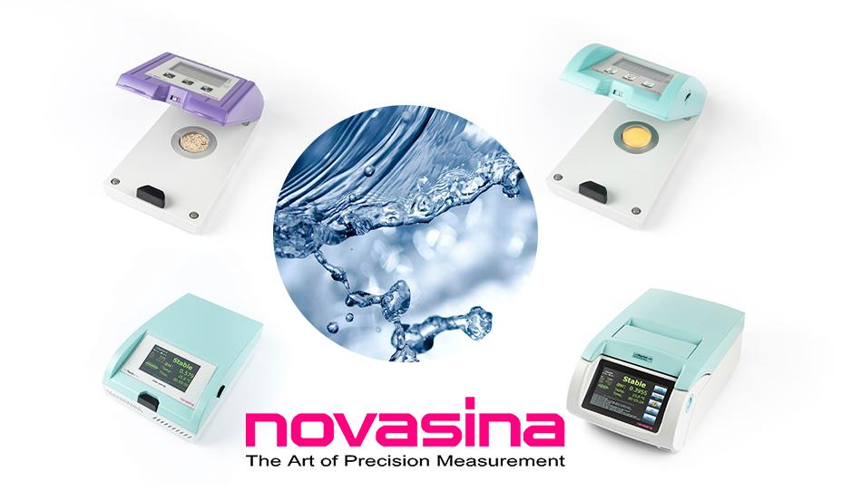 4 vattenaktivitetsmätare från Novasina
